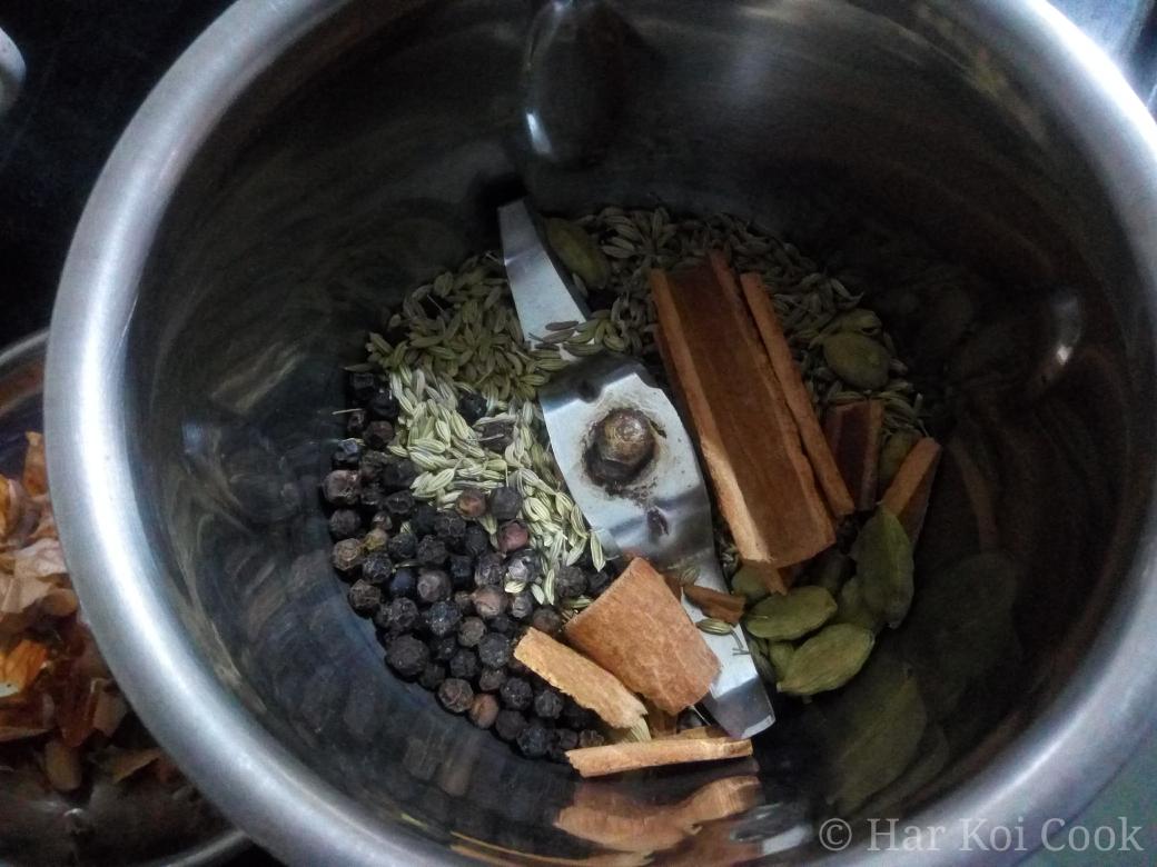 Mix ready for making fine powder - HKC
